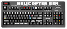 HELICOPTER BEN&#39;S CUSTOM KEYBOARD
