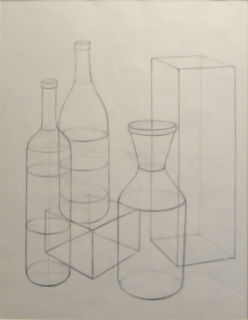 Lawrence Kim, graphite on paper, 2006