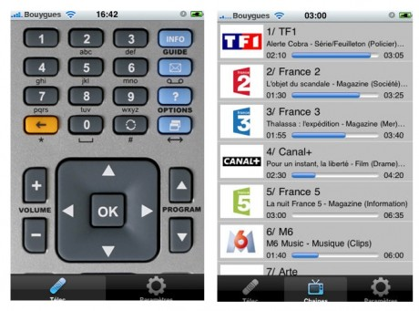 Iphone appli t l commande freebox iphone astuces - Application telecommande orange ...
