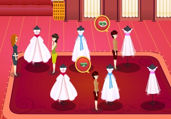 Juegos de hacer vestidos de novia y venderlos