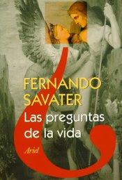 libro las preguntas de la vida de savater: