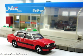 Jovets Garage: Toyota Crown COMFORT TAXI Gift Set