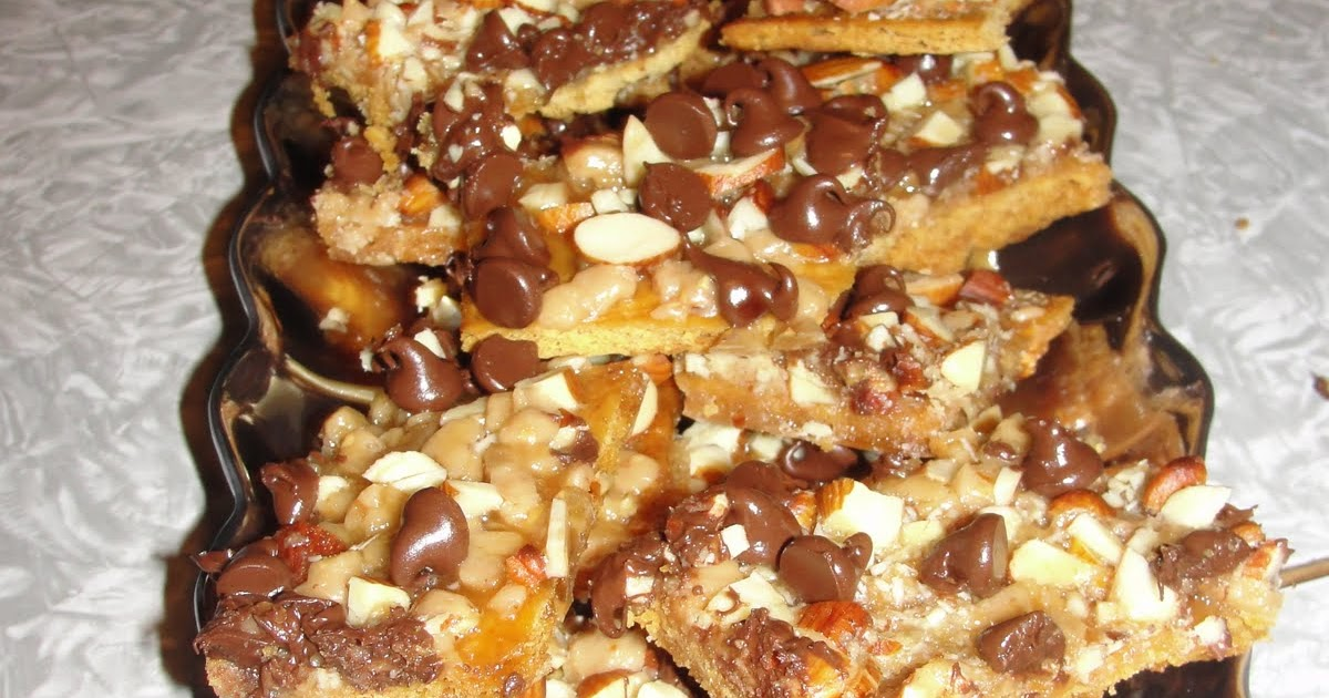 The Thomens: Recipe of the Week: Salted Toffee-Chocolate Squares