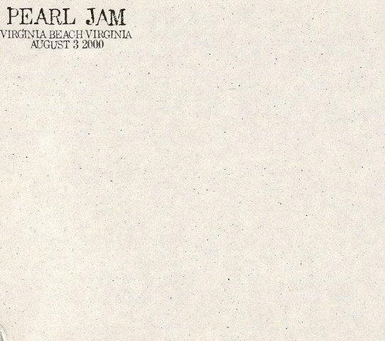 Pearl Jam Virginia Beach