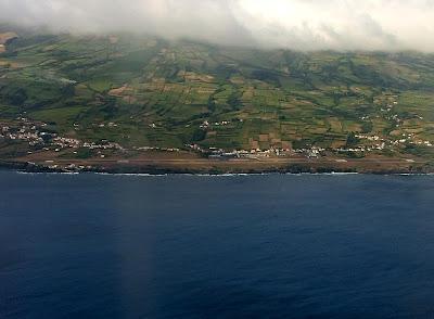 fotos aereas sao jorge pico e faial montanha do pico aeroporto da