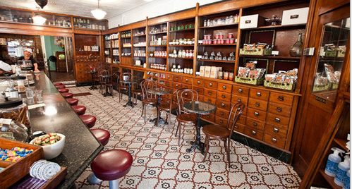 ... NYC we'll be sure to stop in at The Brooklyn Farmacy and; Soda Fountain.