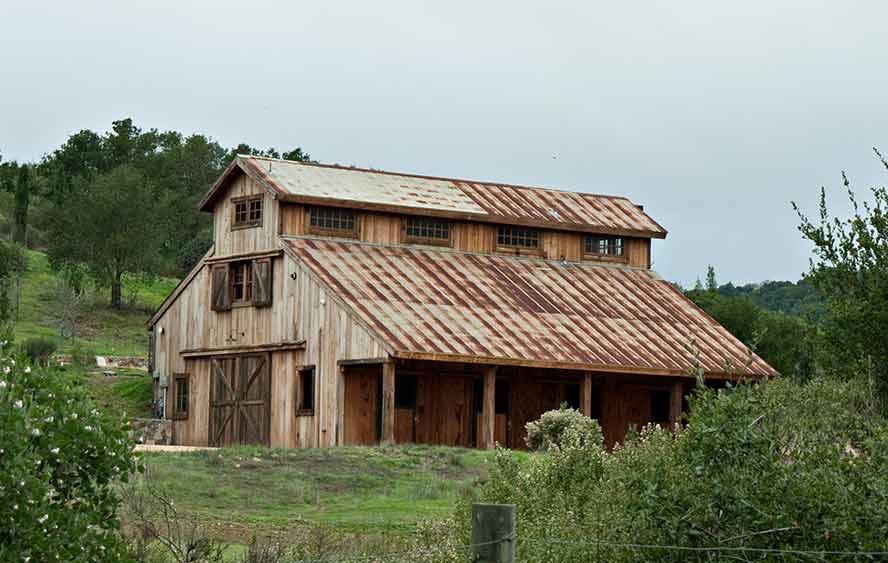 lloyd s blog nice newly built barn in sonoma county