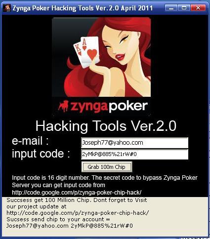 Zynga poker cheats for chips on facebook