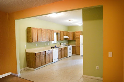 My ta dah list the lettered cottage for Adding crown molding to kitchen cabinets before after