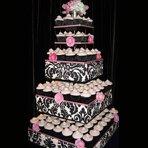 Creative Cupcake Wedding Cakes