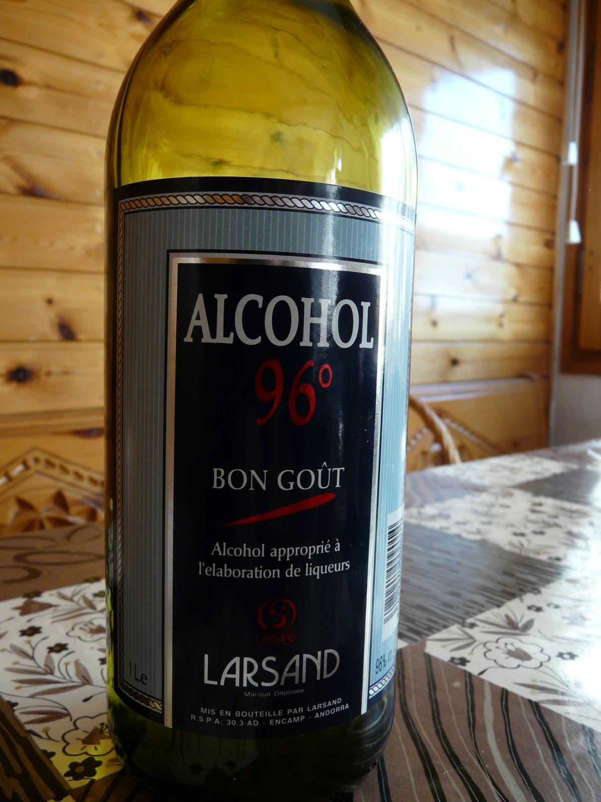 alcohol para perfumes caseros