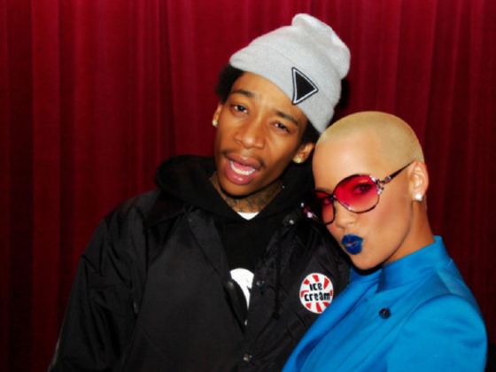 amber rose and wiz khalifa. are wiz khalifa and amber rose