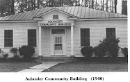 Aulander Community Building - 1940