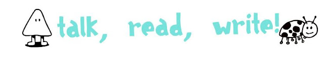 talk, read, write!