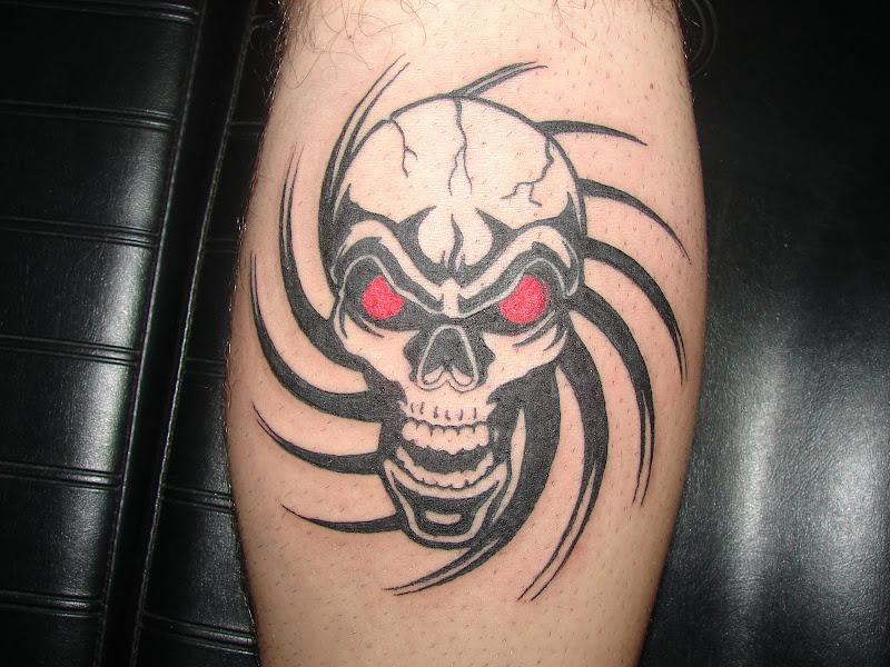Tribal tattoo. title=