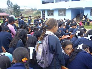 Desfninas mexicanas de secundaria cogiendole de estrellas