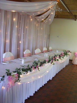 Natasha also had the Arabian Night Backdop Bridal Table complete with a