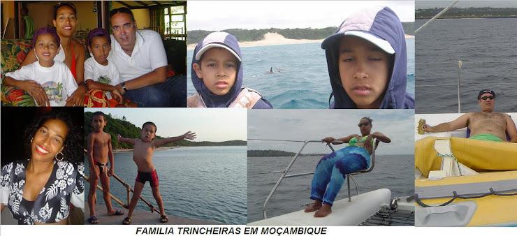 Familia Trincheiras em Moçambique