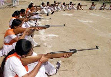 HINDU WOMEN TRAINED TO KILL