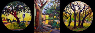 Oil paintings of Landscapes around South Austin, TX