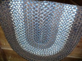 braided roving rug