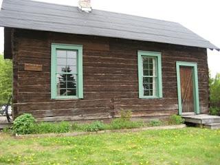 John Pine's homestead cabin