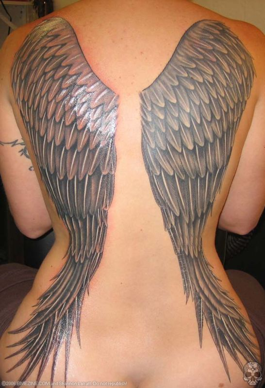 Best wing tattoos