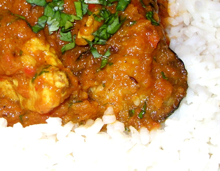 Jenny Eatwell's Rhubarb & Ginger: Chilli Chicken Curry with Courgettes