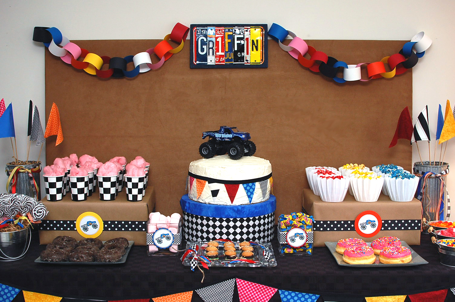 Image Result For Monster Jam Birthday Party Ideas