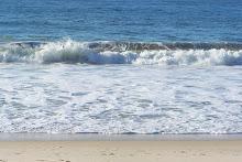 En la playa de Copacabana