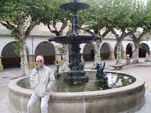 Jose Mari en la plaza de Gata