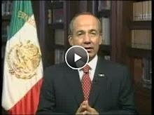 El presidente Calderon cerró el pais durante esos días de finales de abril