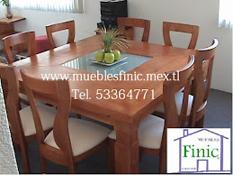 Comedor Finic chon Madera Maple