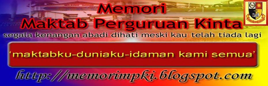 Memori Maktab Perguruan Kinta