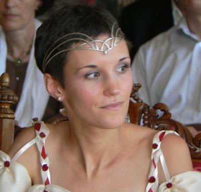 Diadème Arc en ciel lors d'un mariage