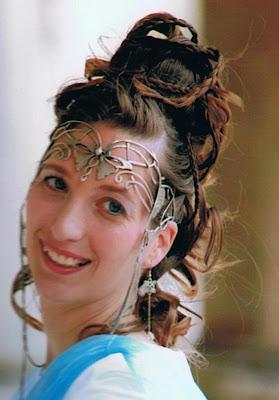 diademe mariage elfique
