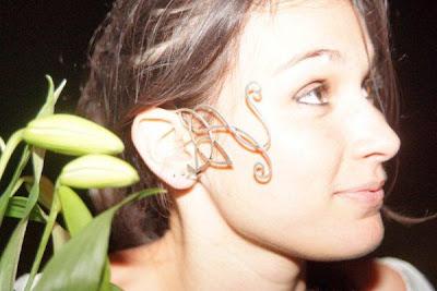 tour d'oreille Thé au Harem lors d'un défilé de mode