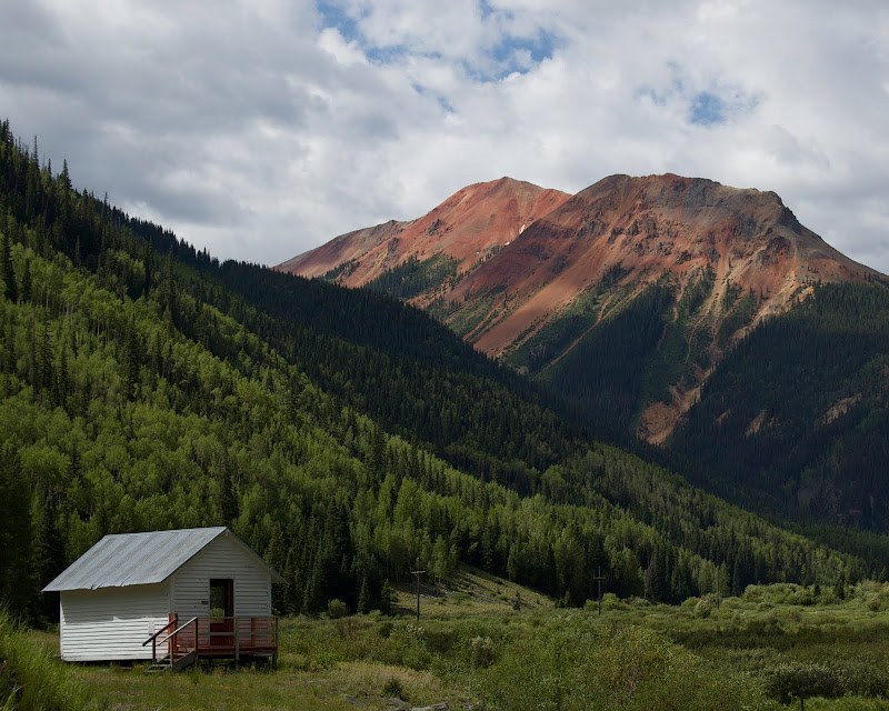 Red Mountain in Colorado