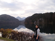 Lake Alpsee with Cindy
