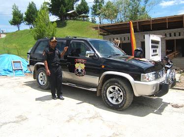 Cek Kesiapan Mobil Patroli Senkom