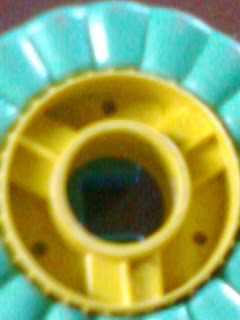 this round round world image is taken when my little baby child was trying to build shapes with her building set on my Nokia Phone