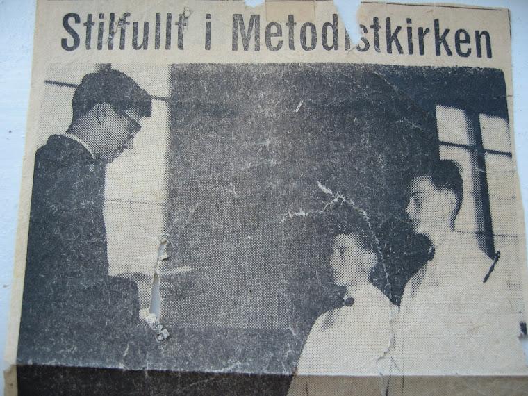 EKSAMINASJON I METODISTKIRKEN I NOTODDEN 1960