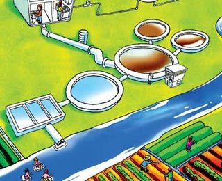 Tratamiento de aguas servidas en arequipa for Como hacer una laguna artificial