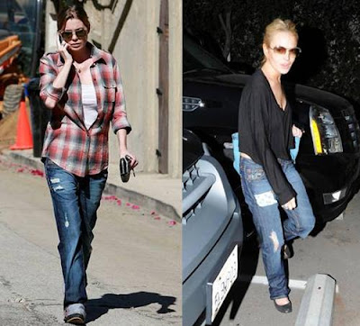 AnnaLynne McCord & Lauren Conrad In PRVCY Denim
