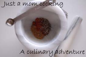 Just a mom cooking