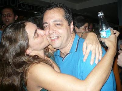 Renata Victor e Fernando Borges