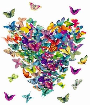 corazon de mariposa