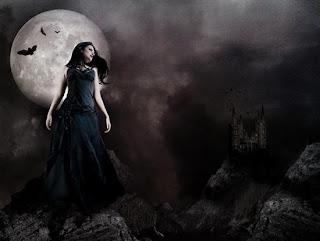 mujer+luna