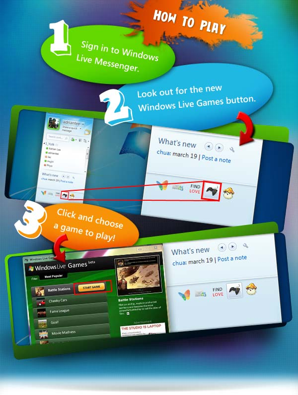 windows live game