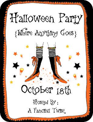 Hophopjingleboo halloween party show my halloween home for Halloween flyer ideas